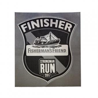 "Finisher Sticker ""Chrome"""